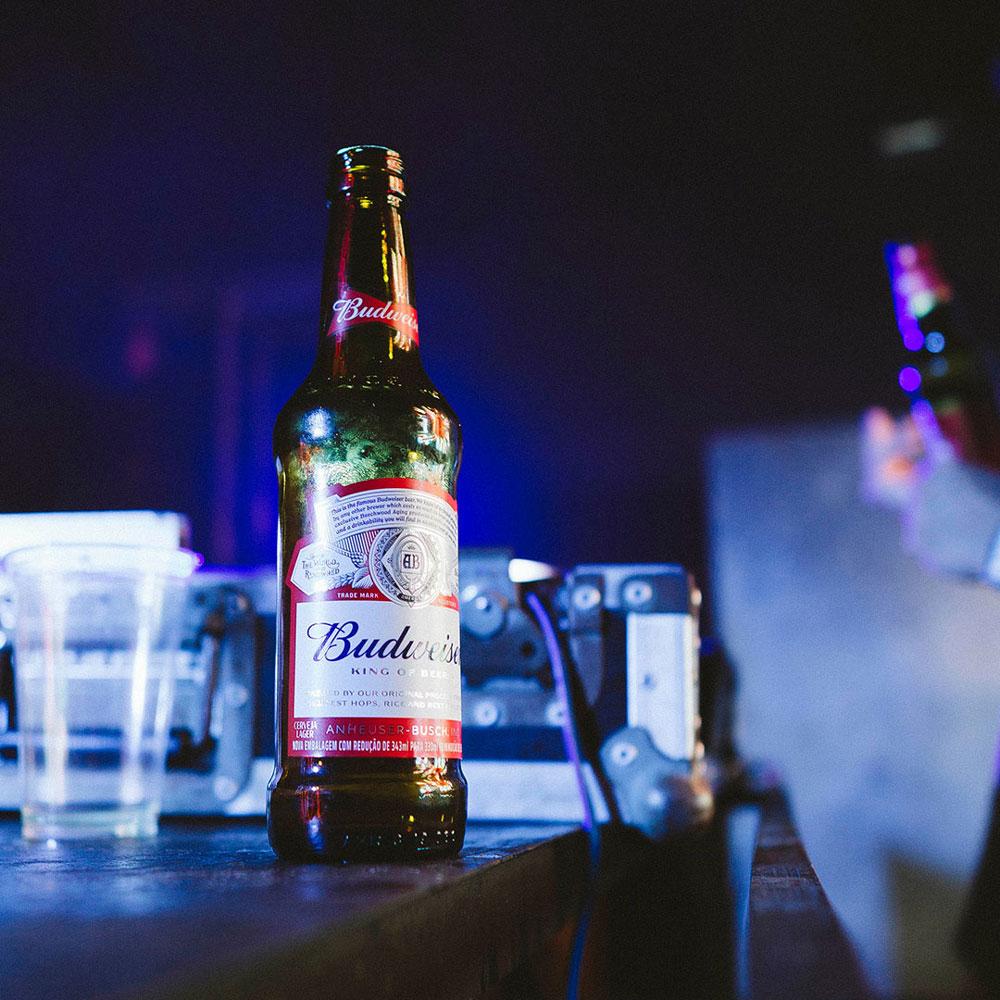 バドワイザー瓶ビール