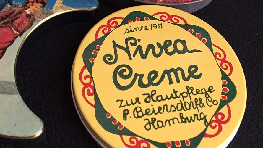 ニベアクリーム缶