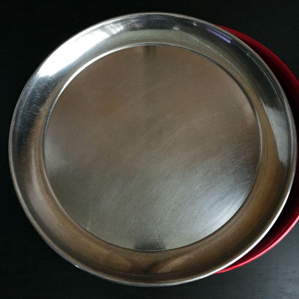 昭和レトロなアルミ製のお盆