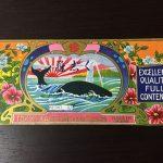 クジラの缶詰ラベル