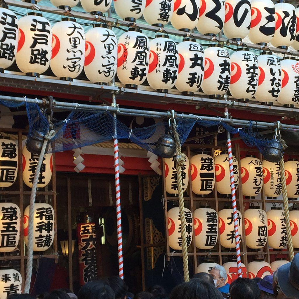 浅草の鷲神社、御社殿