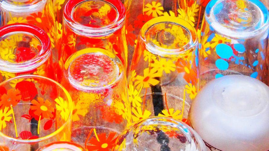 昭和のプリントグラス