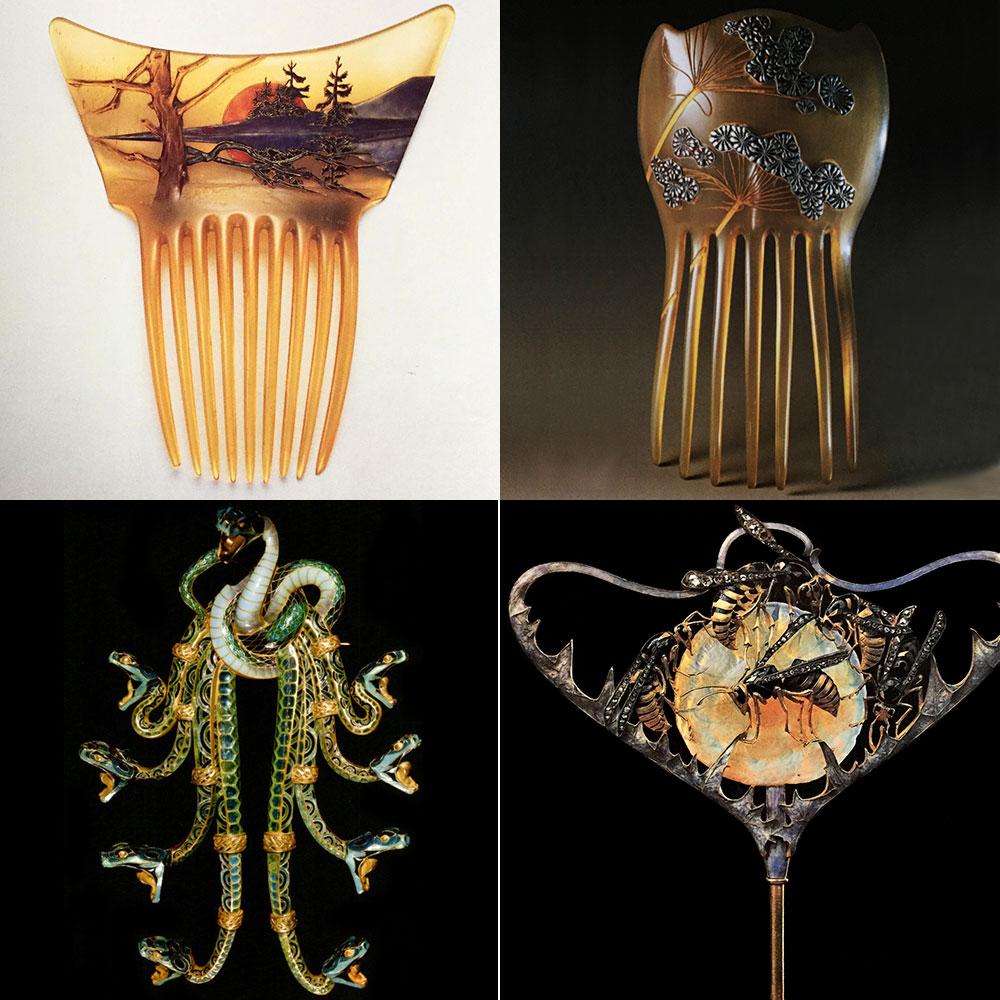 ルネ・ラリックの宝飾品