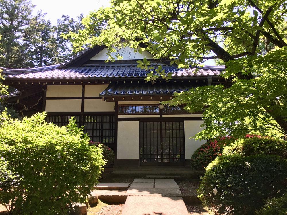 日本家屋の玄関