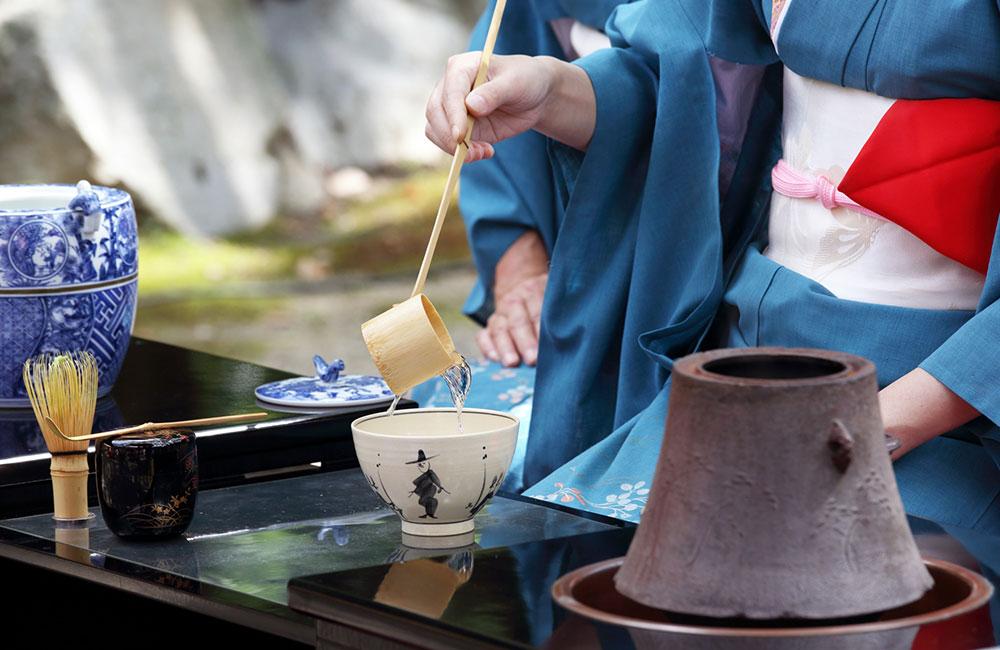 茶道、茶釜