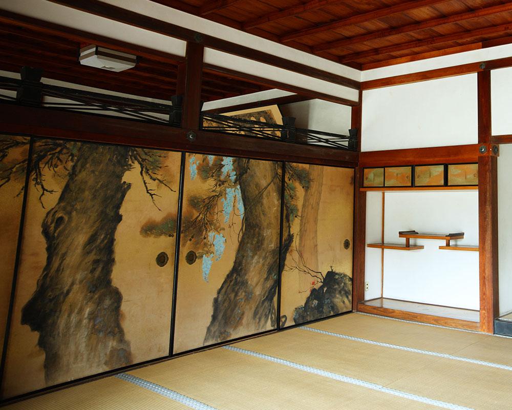 仁和寺の襖絵