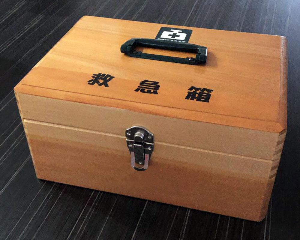 昭和レトロな救急箱