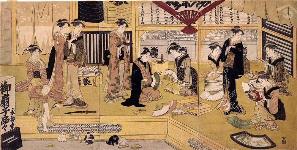 江戸時代の扇屋