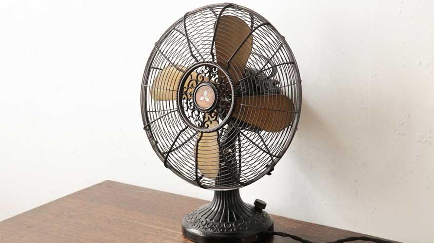 昭和の三菱電機の卓上扇風機