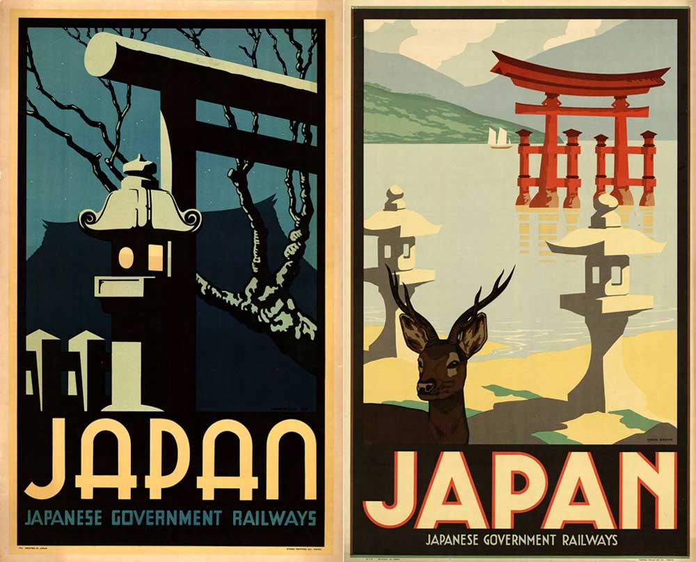 ヴィンテージJAPAN観光ポスター