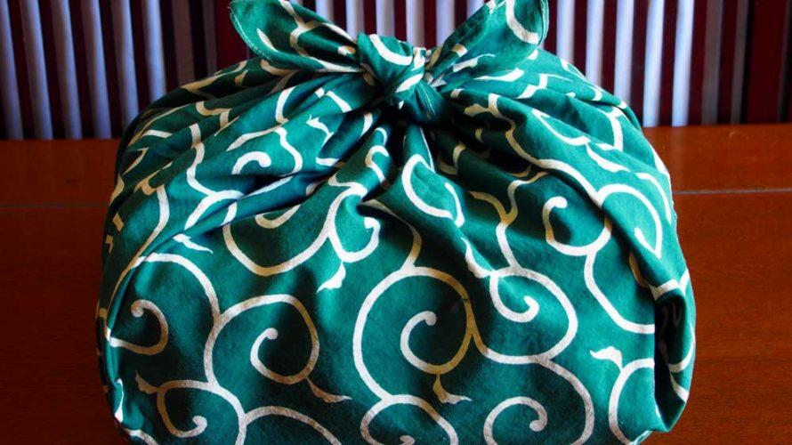 シンプルな一枚の布「風呂敷」は万能だった!