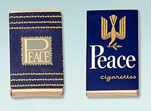 ピースのタバコパッケージ