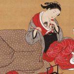 西川祐信 画の浮世絵
