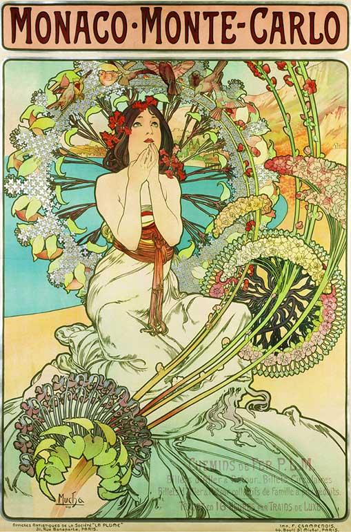 アルフォンス・ミュシャのポスター