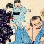 コミカルな酔っぱらいアート「酒機嫌十二相」