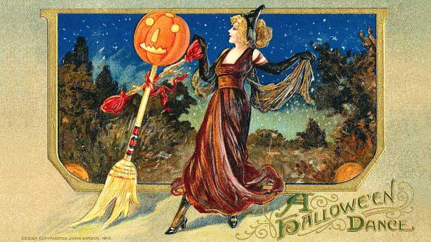 ハロウィングリーティングカード