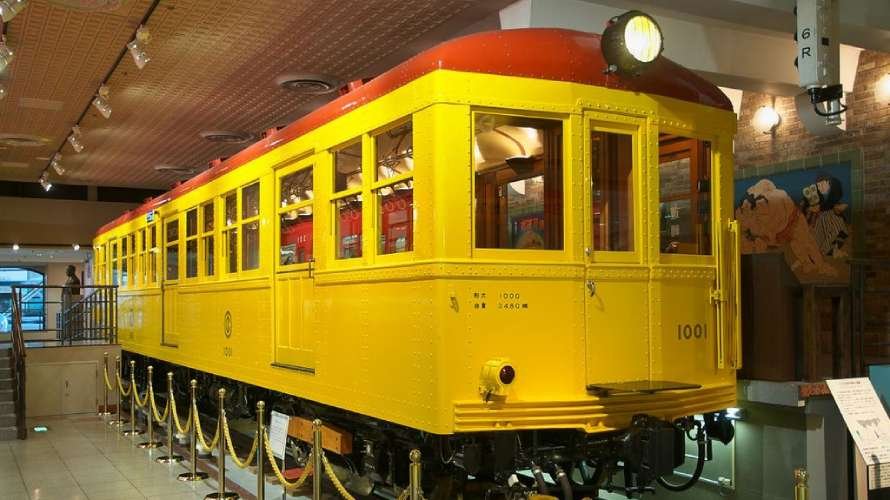 東京地下鉄道1000形電車の1001号車