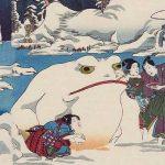 「源氏十二ヶ月之内 雪見月」歌川国貞 画