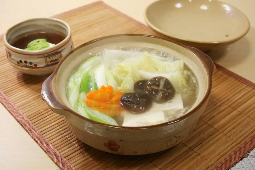 鍋料理の水炊き