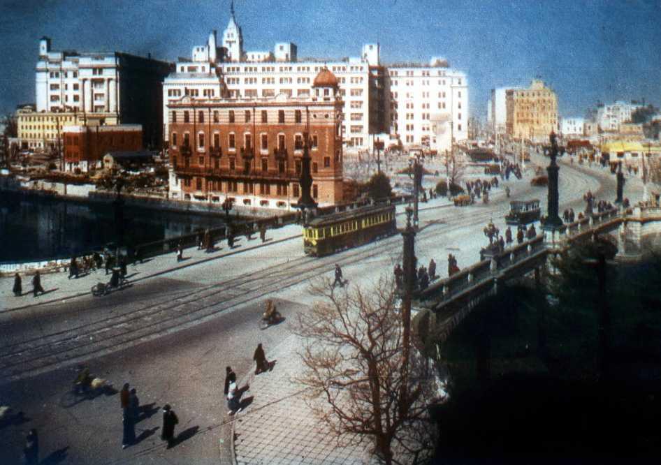 1930年代の東京・日本橋の風景