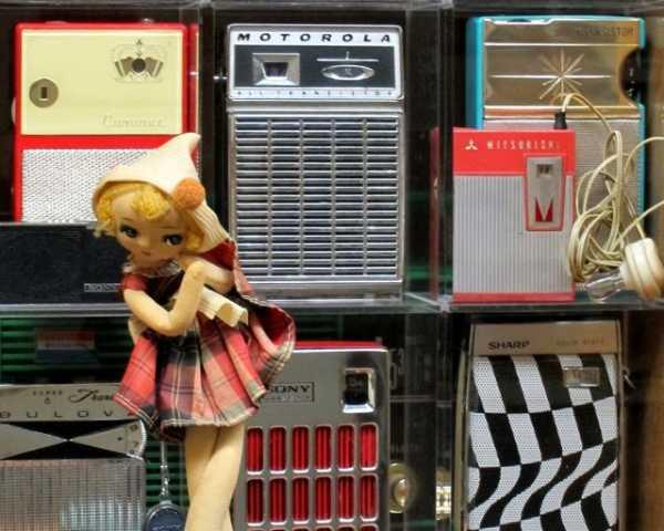 昭和の頃のトランジスタラジオ