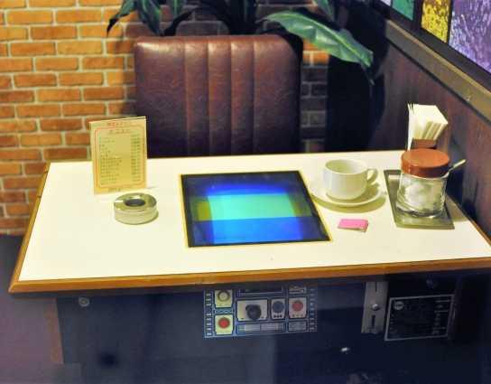 昭和の喫茶店、インベーダーゲーム