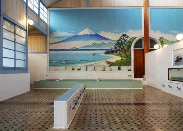 昭和の雰囲気漂う銭湯