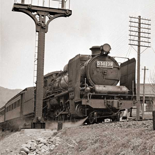 D50蒸気機関車