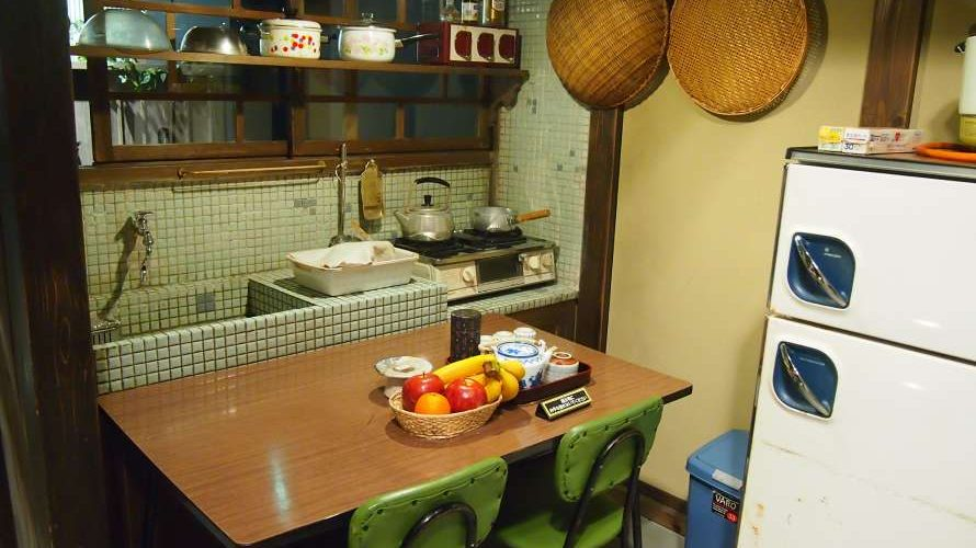 昭和30年代の台所