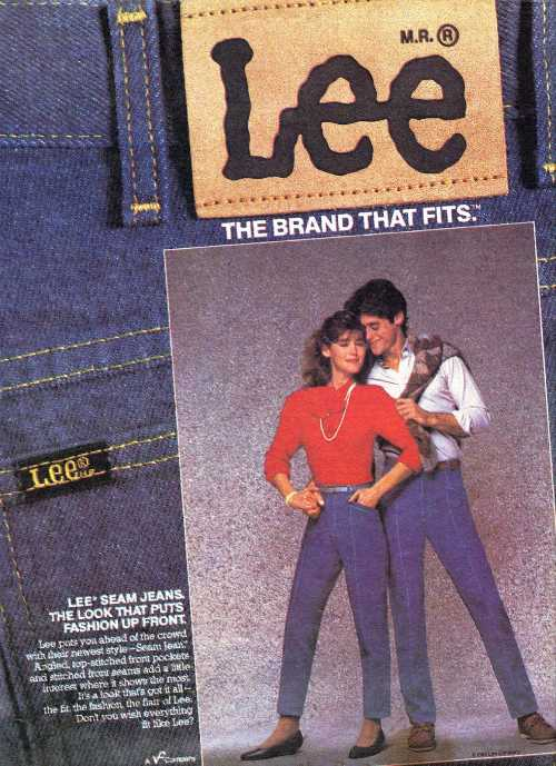 1984年のLeeジーンズ広告