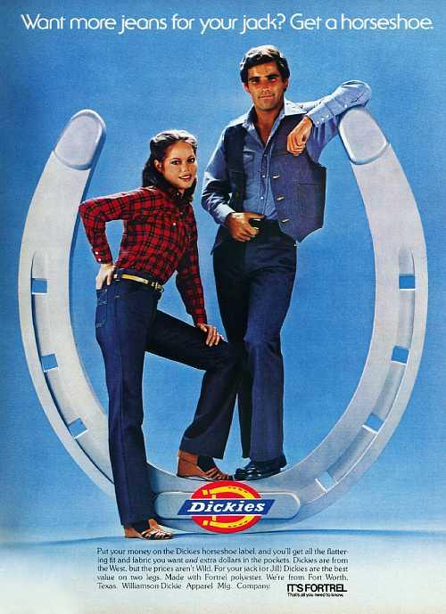1979年のDickiesジーンズ広告