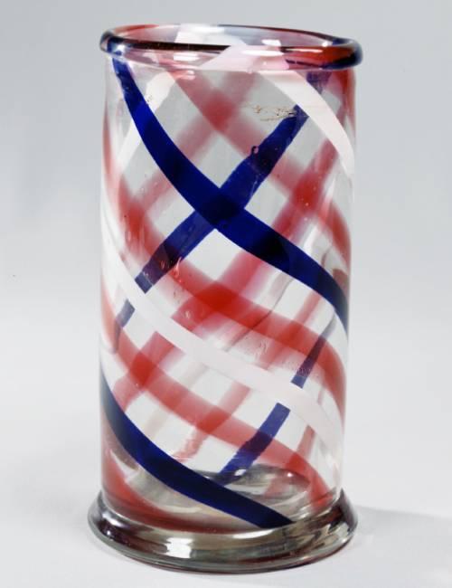 斑色(ふいろ)ガラス筆筒