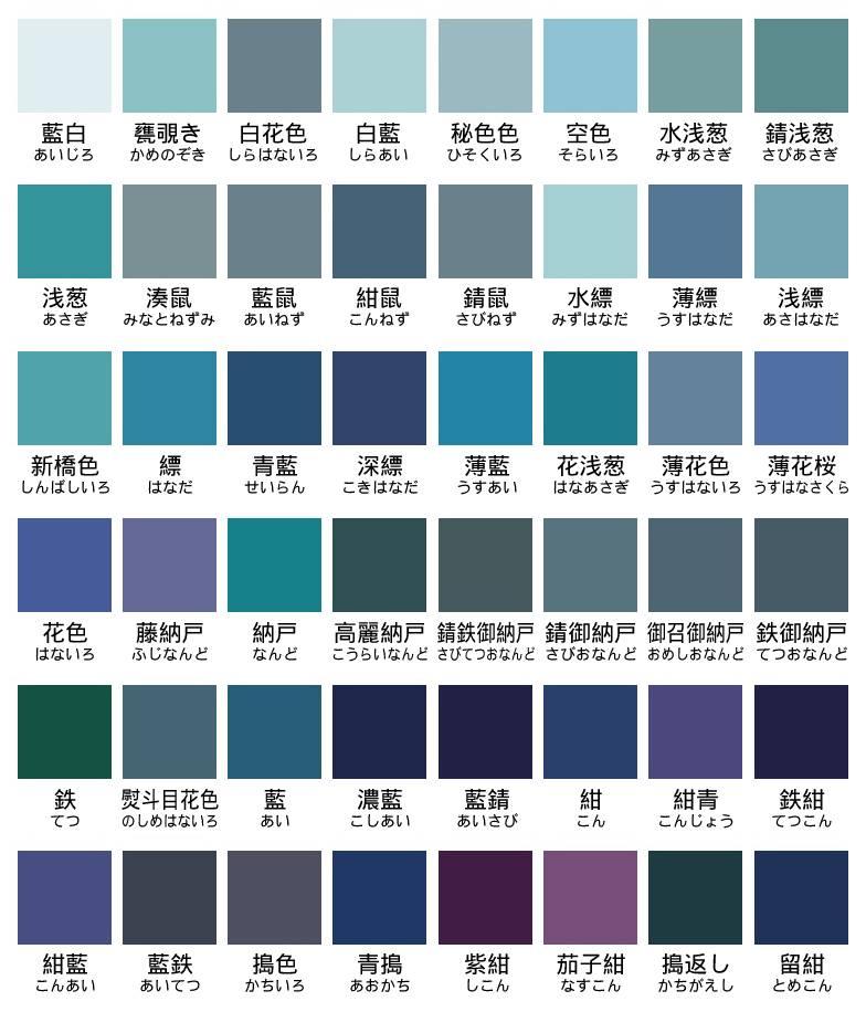 藍四十八色